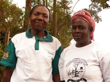 Maurice and Salome Wanjala