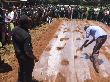 Low water farming demo