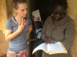 Maddy Forsyth lesson planning with Mdm Mary