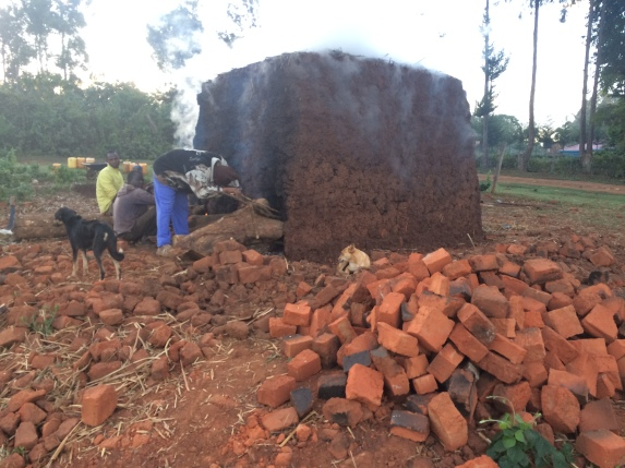 Traditional Brick firing